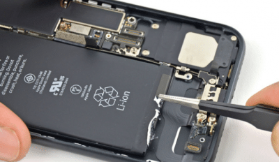 reparation son iPhone 7