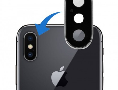Réparation lentille arrière d'iPhone